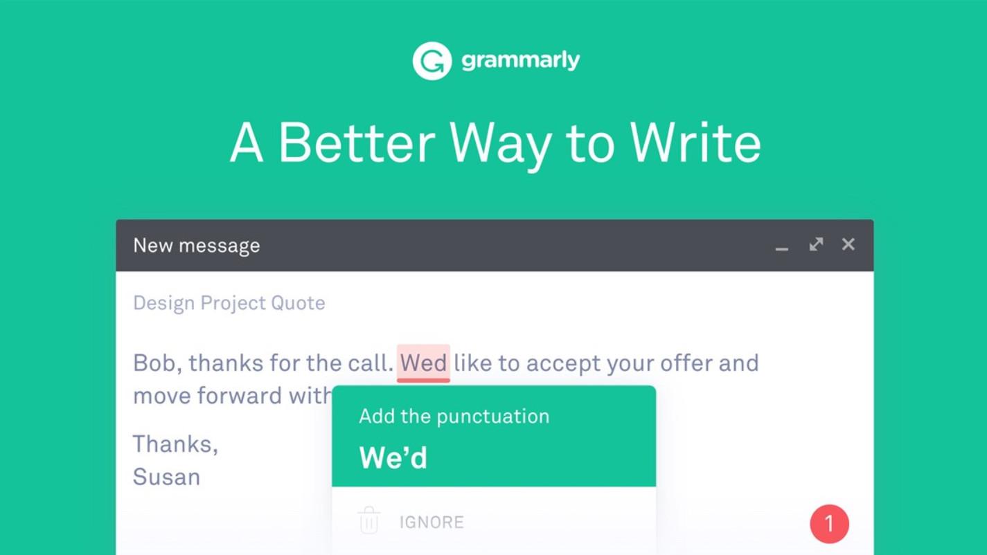 Grammarly - найкраще для письма
