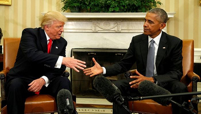 Трамп отказывается торжественно представить портрет Обамы в Белом доме, нарушая 40-летнюю традицию