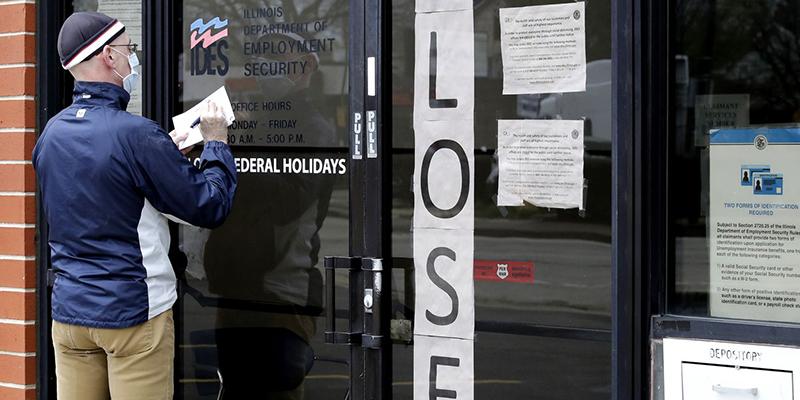 В США 41 млн человек потеряли работу с момента появления вируса