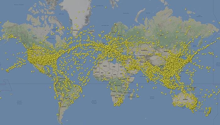 Что такое Flightradar24? И как работает сайт, на котором в реальном времени можно отслеживать все летящие в небе самолеты