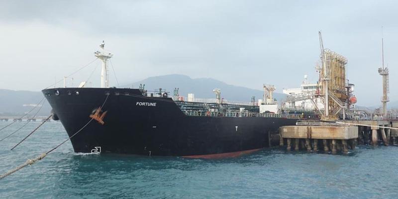 Два иранских танкера направились в свою страну после доставки топлива в Венесуэлу, обе страны находятся под прямыми санкциями со стороны США