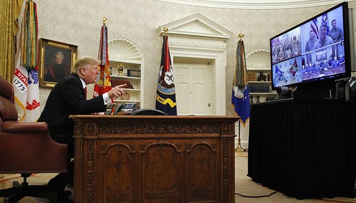 Трамп проводит бóльшую часть своего времени в Овальном кабинете за просмотром телевизора, говорит Джон Болтон, бывший советник по нацбезопасности