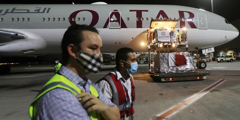 Qatar Airways заявляет, что их потери достигают 1,9 млрд долларов на фоне пандемии
