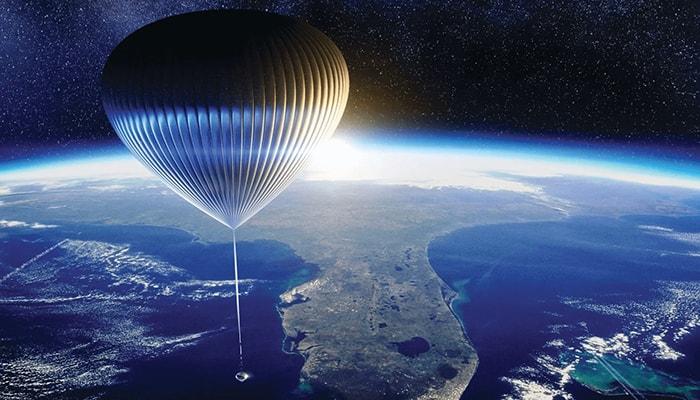Стартап хочет бросить вызов Blue Origin, SpaceX и Virgin Galactic, доставив туристов к границам космоса на специальных воздушных шарах