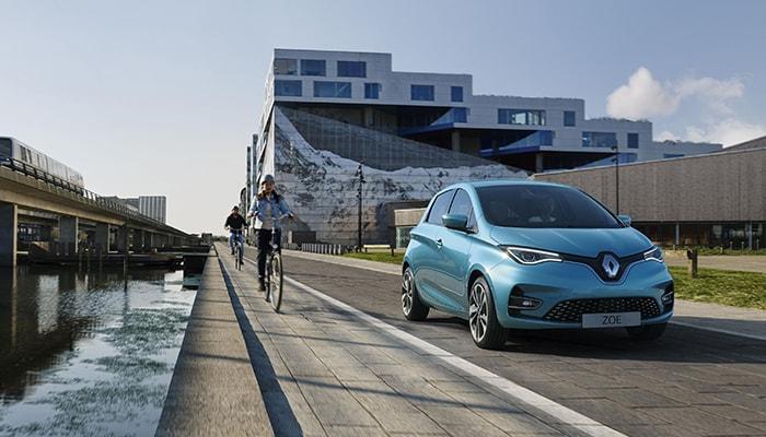 Renault сообщает о рекордном росте продаж электромобилей