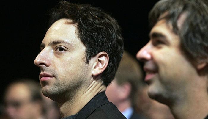 Состояние основателей Google Ларри Пейджа и Сергея Брина превысило 100 миллиардов долларов, таких людей в мире теперь восемь