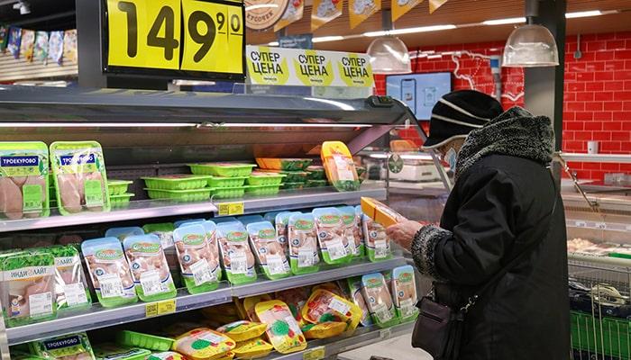 Россия ожидает наибольшего повышения ставок с 2014 года, чтобы сдержать инфляцию